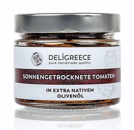 Sonnengetrocknete Tomaten, in extra nativem Olivenöl
