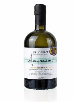 Archaelaion Olivenöl, aus unreifen Oliven