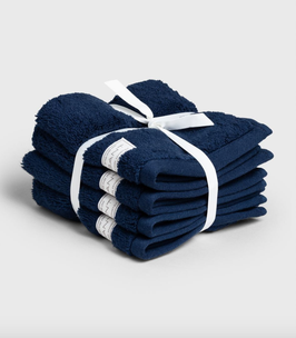 Premium Handtuch, dunkelblau