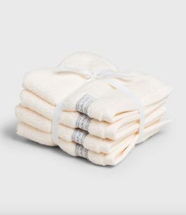 Organic Cotton Premium Handtuch, creme / eierschalen (eggshell)