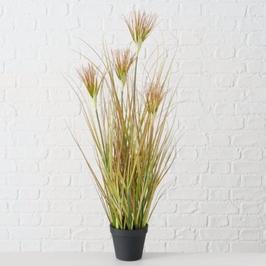 Zwiebelgras, Kunstpflanze im Topf, Urban Plants