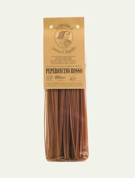 Linguine mit Peperoncino (Hartweizengrießnudeln)