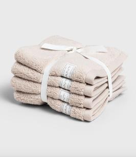 Organic Cotton Premium Handtuch, sandfarben (dry sand)