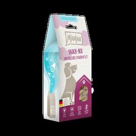Mjamjam Snackbox - vorzügliches Straußenfilet