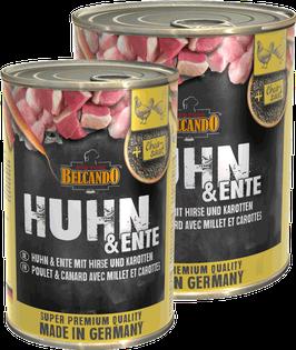 Belcando Huhn & Ente mit Hirse & Karotten