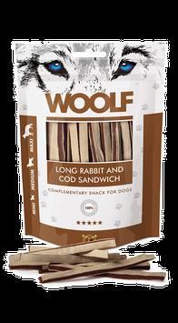 WOOLF Weiches Kaninchen Kabeljau Sandwich