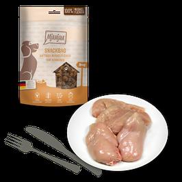 Mjamjam Snackbag saftiges Muskelfleisch vom Hühnchen