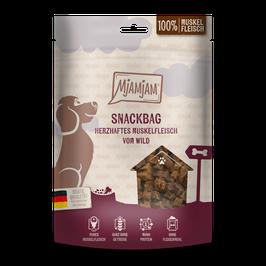 Mjamjam Snackbag Herzhaftes Muskelfleisch vom Wild