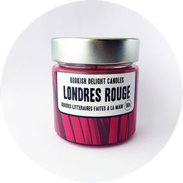 Bougie - Londres rouge