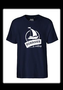 """Männer T-Shirt """"Edersee is calling"""""""