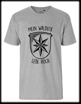 "Männer T-Shirt ""Mein Waldeck lebe hoch"""