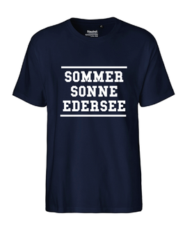 "Männer T-Shirt ""SOMMER SONNE EDERSEE"""