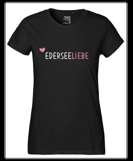 """Frauen T-Shirt """"Ederseeliebe ♥"""""""