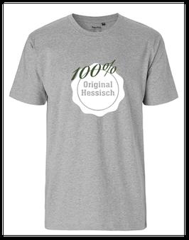 """Männer T-Shirt """"100% Original Hessisch"""""""