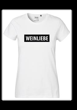 """Frauen T-Shirt """"Weinliebe"""""""