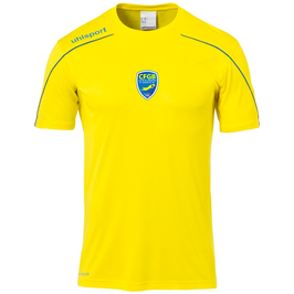 Maillot Match Mc Jaune CFGB