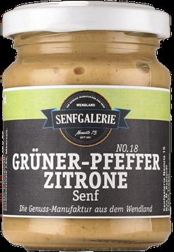 Grüner-Pfeffer-Zitrone Senf