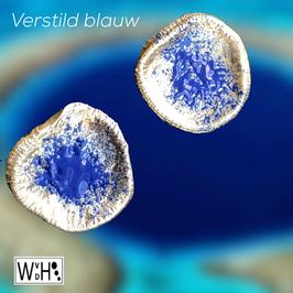 Oorbellen 'Verstild Blauw'