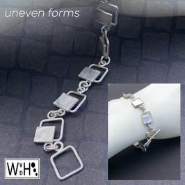 Armband 'Uneven forms'