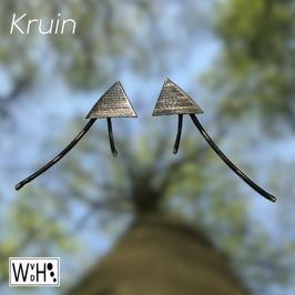 Oorbellen 'Kruin'