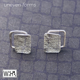 Oorbellen 'Uneven forms'