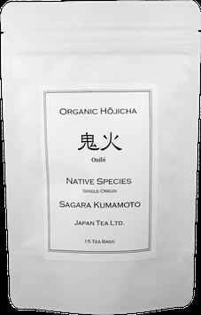 """Onibi"" Organic Deep Roasted Hojicha  (Teabags)"