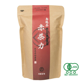 """Aka chariki"", Japan production of oolong tea type for your everyday , safe organic JAS certified"