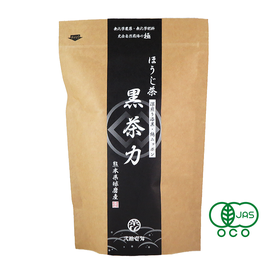 """Kuro chariki"" Rich tea Japanese roasted green tea-leaf type, safe organic JAS certified"