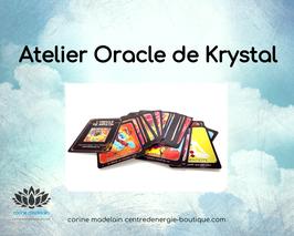 Atelier découverte de l'Oracle de Krystal