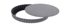 PASTICCERIA TORTIERA TONDA CON FONDO MOBILE, Ø 32 x H 3 cm ,  confezione 1 pz .