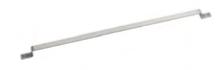 BARRA INOX  18/10 per appendere utensili, 79 x 2,5 cm , confezione 1 pz .
