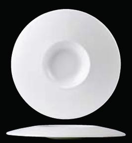 Monaco White Float Small Well diametro 30.5cm ,capienza 25.75cl , 1pz.