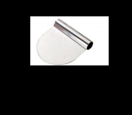RASCHIA TONDA INOX , 12 x 9 x H 2,5 cm , confezione 1 pz .