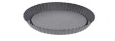 PASTICCERIA TORTIERA TONDA PER LA TORTA DI FRUTTA , Ø 28 x H 3 cm ,  confezione 1 pz .
