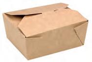 BOX#4 Contenitore avana 200x140 h90mm 160pz. con chiusura  incastro