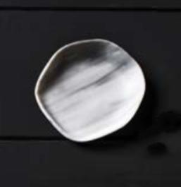 Nordica glass plate Ø9cm / Ø3.5''          1PZ.