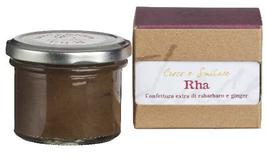 Rha , 100 gr , Confettura di rabarbaro e ginger