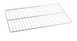 GRIGLIA IN FILO INOX  , 53 x 32,5 x H 2 cm ,  confezione 1 pz .