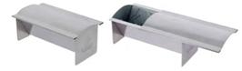 STAMPO CAKE INOX con coperchio acciaio , 18 x 18 x H 6,5 cm , confezione 1 pz .