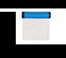 RASCHIA  INOX FLESSIBILE , 11 x 8,8 x H 2,5 cm , confezione 1 pz .