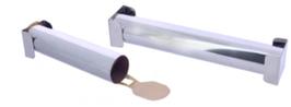 STAMPO TUBO INOX concept JEROME LANGILLIER , Ø 4,5 x 30 cm , confezione 1 pz .