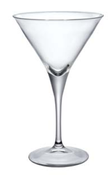 CALICE COCKTAIL MARTINI CL 24,5 H 18,2 Ø CM 11,4 , CONFEZIONE 10 PZ.