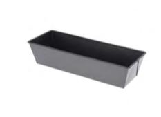 PASTICCERIA TORTIERA RETTANGOLARE PLUMCAKE ANGOLI ACUTI , 25 x 10,8 x H 7 cm ,  confezione 1 pz .