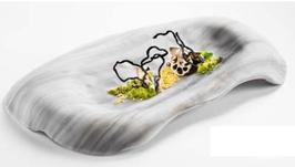 Nordica glass presentation tray 32x20cm / 125ml 1PZ.