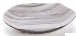 Nordica glass deep plate  /Ø21cm / Ø8.3'' / 250ml 1PZ.