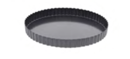 PASTICCERIA TORTIERA TONDA , Ø 28 x H 3 cm ,  confezione 1 pz .