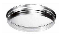 Vassoio profilo alto, diametro 30 cm inox