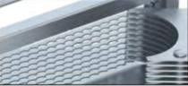 MANDOLINE AFFETTA POMODORI INOX LAME DI RICAMBIO, 24,5  x H 7 cm , scatola da 1 pz.