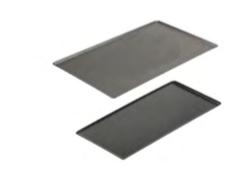 PASTICCERIA TEGLIA ALLUMINIO RETTANGOLARE con rivestimento antiaderente CHOC,  sp 2 mm , 60 x 40 x H 1 cm ,  confezione 1 pz .