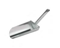 SASSOLA TONDA INOX , manico 1,4 L , 24 x 15 x H 6,5 cm , confezione 1 pz .